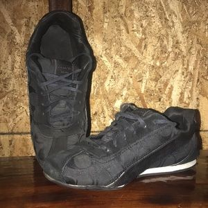 Black Coach sneakers (ea.)